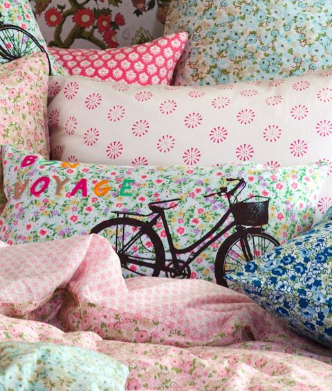 H Home collection bedding.