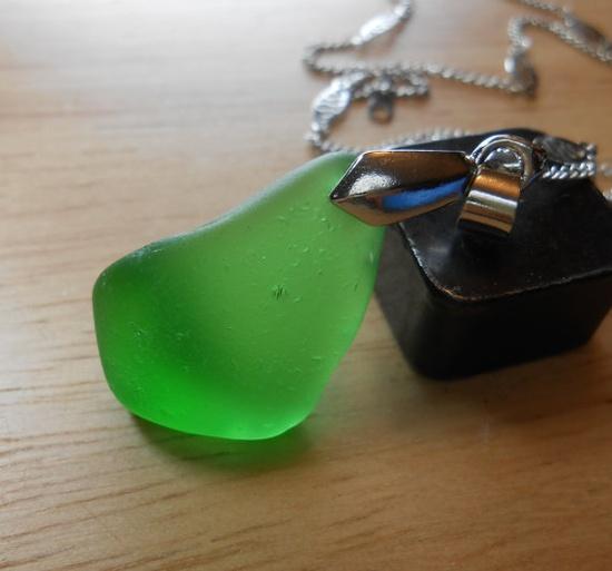 Sea Glass Necklace - Beach Glass Jewelry - SINGLE and LOVIN' IT