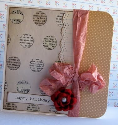 Very Creative Handmade Card, simple but clever