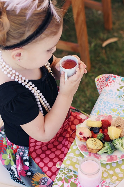 little tea party birthday idea