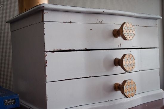 DIY Jewelry Box Makeover...