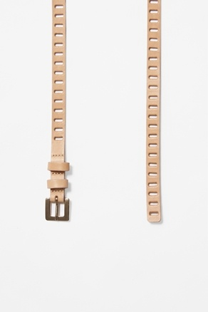 // cut out leather belt by cos