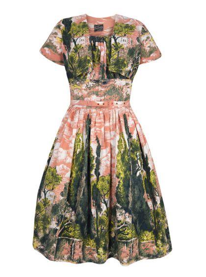 very lovely vintage dress!