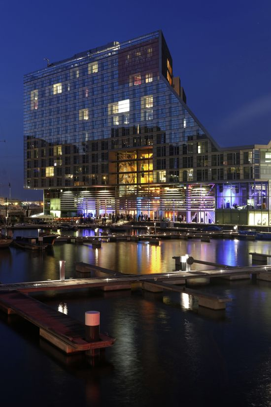 Room Mate Hotel Aitana, IJdock by Bakers Architecten in Amsterdam
