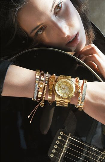 Michael Kors arm candy. one of each, please!