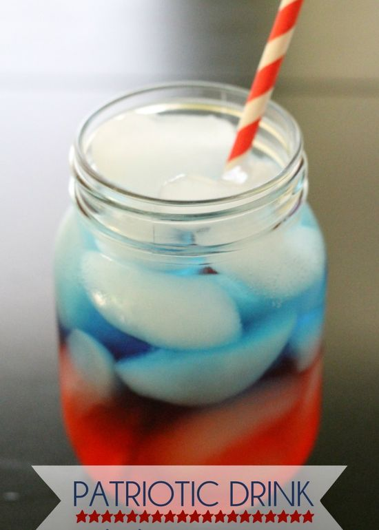 Patriotic drink perfect for the Fourth