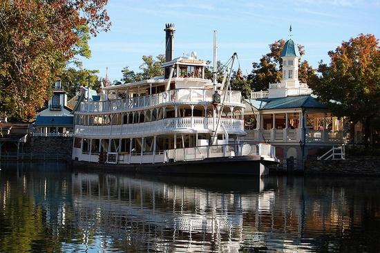 Liberty Belle Steamboat at Disney's Magic Kingdom
