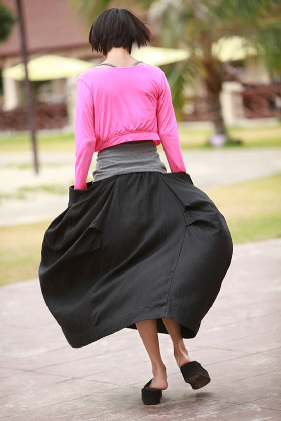 quirky skirt with pockets
