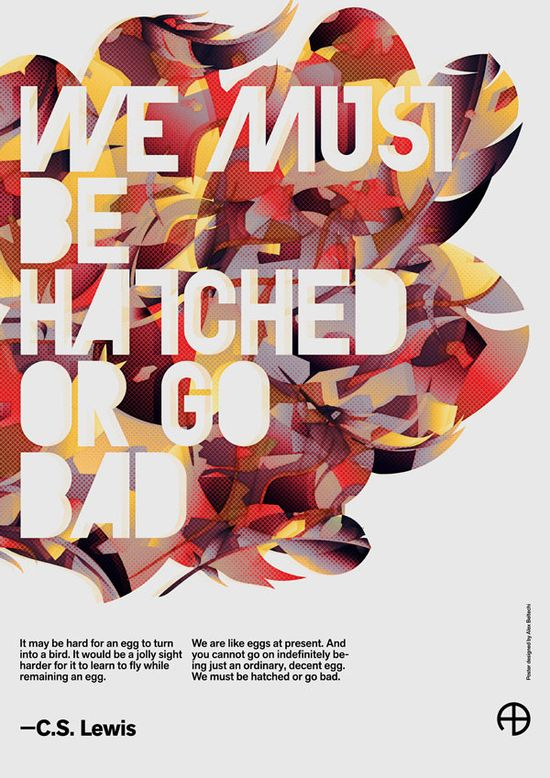 Graphic Poster Design by Alex Beltechi