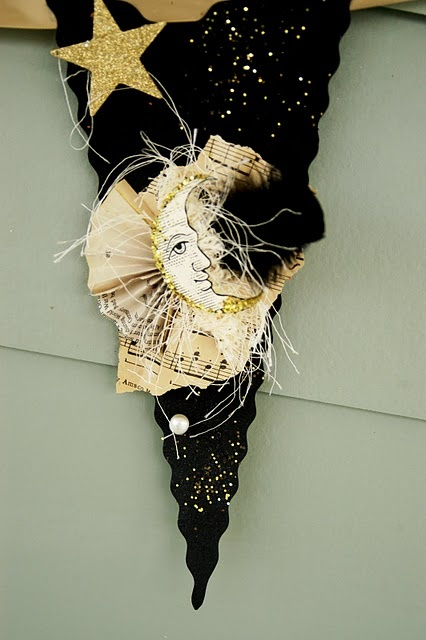 noir halloween banner