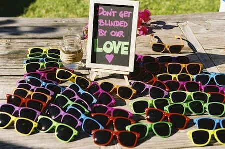 For an outdoor afternoon wedding, this could be rather hilarious to hand out before the ceremony. :)  Wedding Inspiration