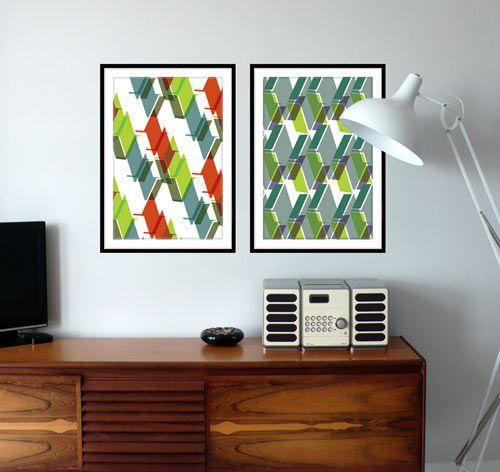 Leigh Bagley geometric prints