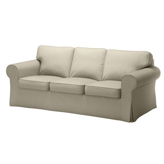 EKTORP sofa, Tygelsjö beige #IKEA #PinToWin