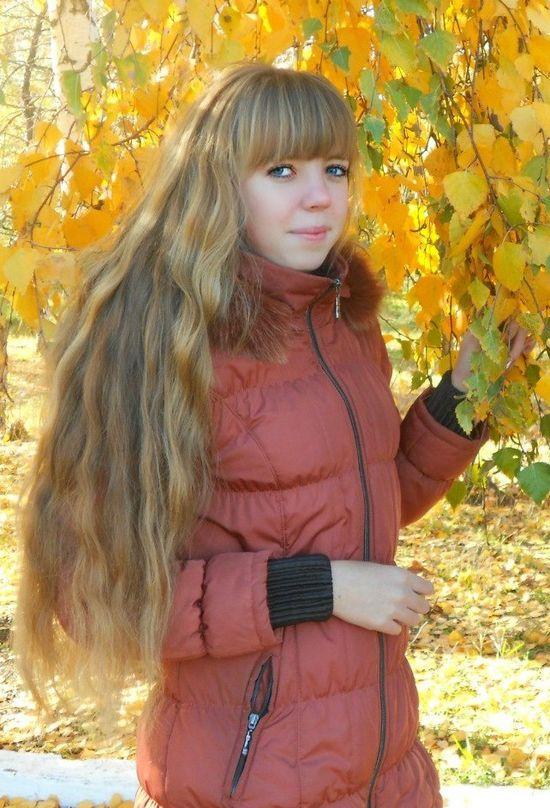 long hair, fringe bangs