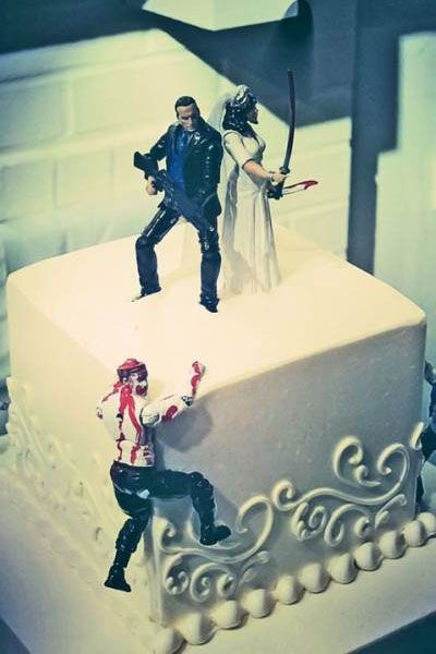 Zombie-Inspired Wedding Ideas