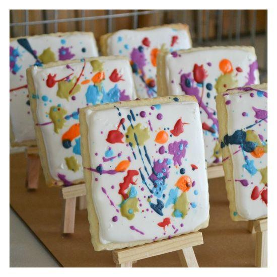 Canvas cookies