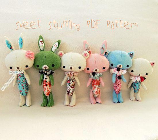 bunny PDF patterns