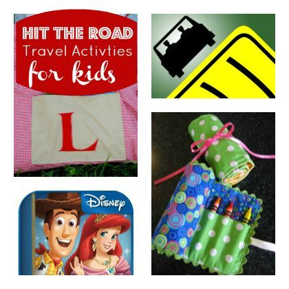 Hit The Road: Fool-proof Travel Activities for Kids