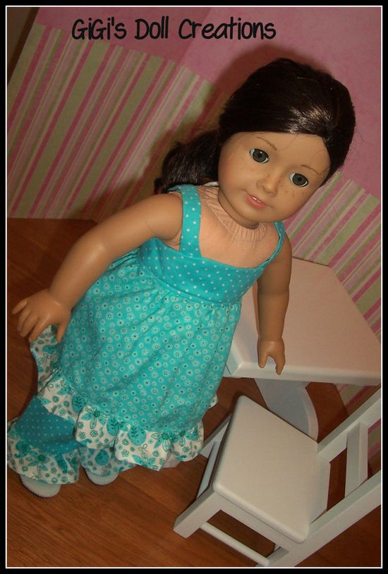 Paisley outfit for 18 inch American Girl by GiGisDollCreations, $15.99