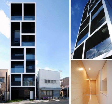 Love it!Narrow building [tokyo] by MMA Design