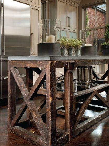 Rustic-Modern Kitchen Design   /   Tumblr