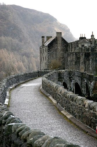 Castle, Highlands, Scotland.