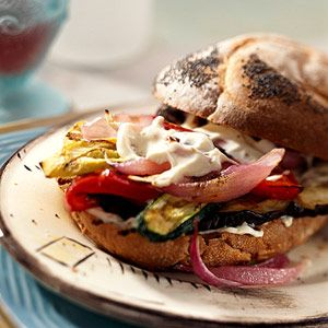 Sizzling Vegetable Sandwiches