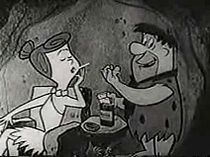 Yes....even cartoon characters did commercials for cigarettes back in the day!