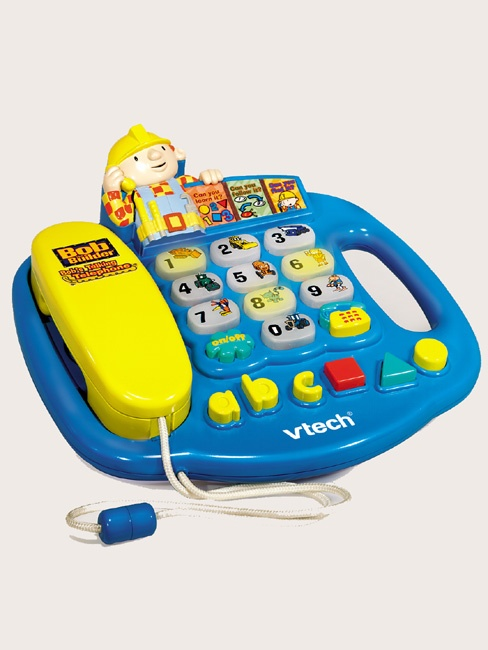 VTech Electronic Toy Bob the Builder Talking Telephone