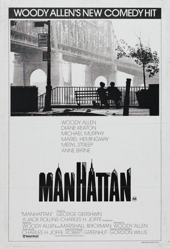 Manhattan Movie Poster.