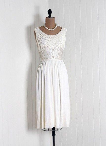 Vintage wedding dress 1950s