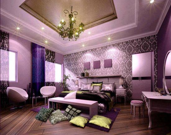 Purple decor