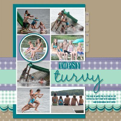 Scrapbooking ideas - beach