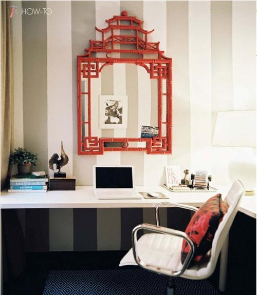 simple built in desks