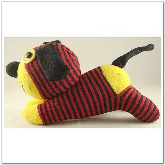 most adorable sock dog from super sock monkeys