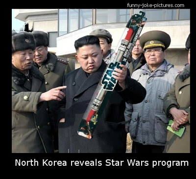 ....North Korean Star Wars Program Funny Picture
