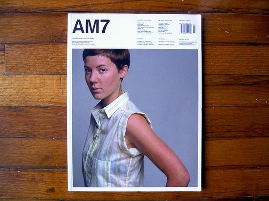 AM7 Magazine    In 2001 graphic design students Daniel Fritz and Maik Stapelberg created the 7th issue of their school magazine, Akademische Mitteilungen (AM7).