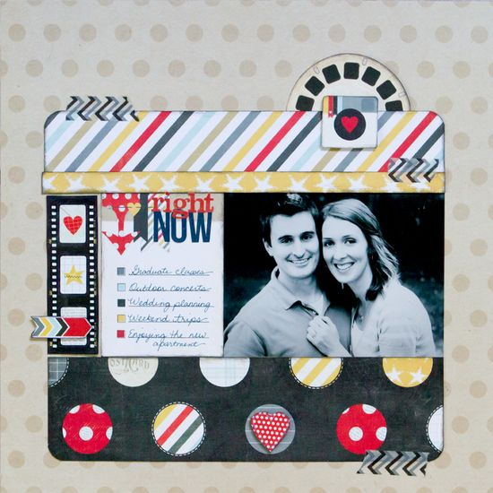 """Simple Stories Say Cheese """"Right Now"""" layout - Scrapbook.com"""