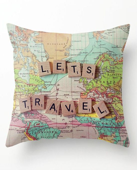 Let's Go Travel Pillow ?