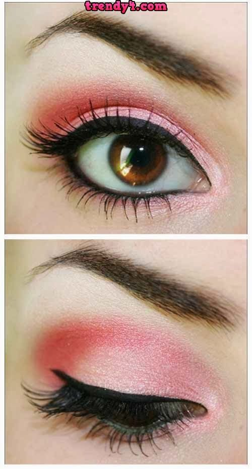 Latest Eye Makeup Styles 2014