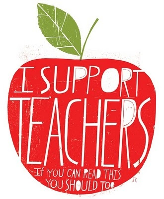 i support teachers, you should too!