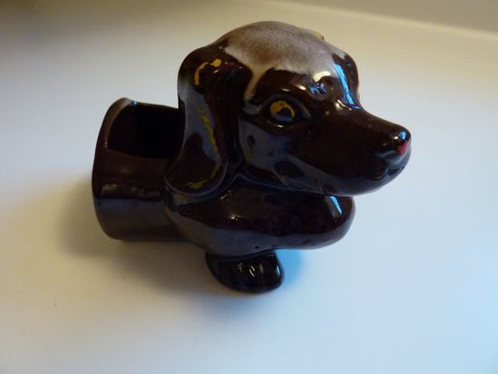 Chocolate Brown Daschund Weiner Dog Pocket by julianandbelle, $10.00