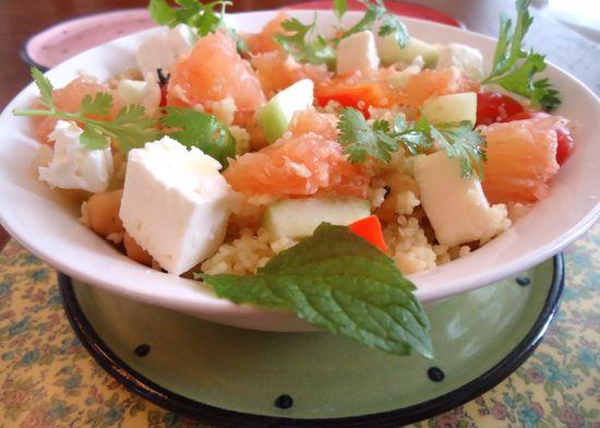 Thursday Salad: Summer Grapefruit Salad