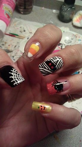 Halloween - Nail Art Gallery by NAILS Magazine