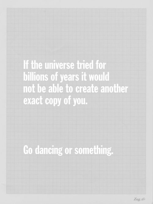 if the universe...
