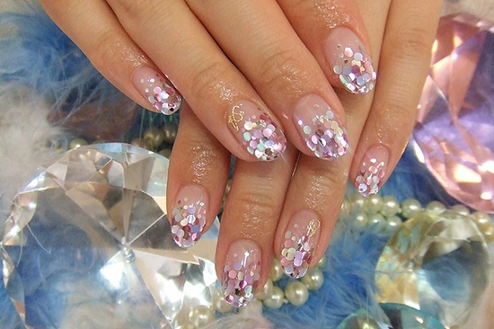 Party Nails! Nail Art Manicure.