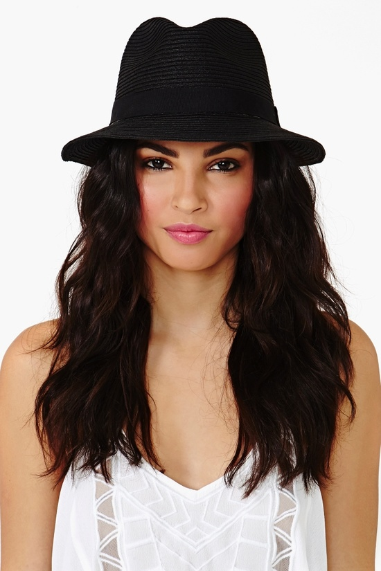 Panama Hat in Black