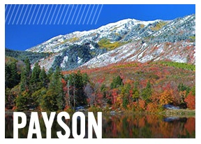 Payson - The mountains provide a stunning backdrop and a gateway to one of Utah's most beautiful scenic places – the Nebo Loop National Scenic Byway offering 38 miles of gorgeous lakes, biking and hiking trails, picnic areas and campgrounds. Resting at the base of these mountains is Gladstan Golf Course an eighteen-hole municipal facility which incorporates the mountainous surroundings to create a breathtaking and surprisingly challenging golf course.