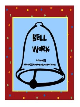 Skills in this packet are on the 3rd grade level. This packet can be used as Bell Work - whole class activity to  review language arts and math skills or it can be used to enrich  students in 2nd grade or help 4th grader who need more practice.