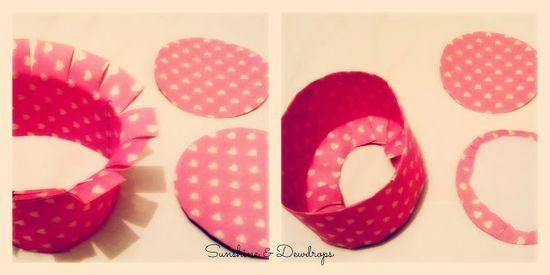 Handmade Paper Baskets by Sunshine